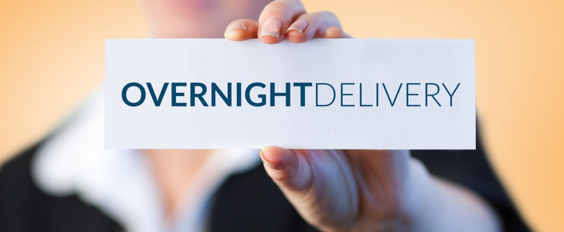 Overnight delivery service it will never work